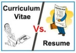 DIFFERENCE BETWEEN CV AND RESUME – TIPS TO MAKE RIGHT ONE FORYOURSELF